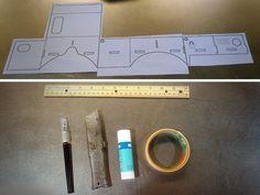 DIY Google Cardboard viewer - templates and tools