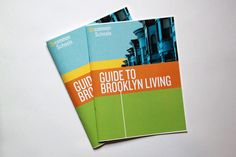 Uncommon School's Guide to Brooklyn Living - help for relocating educators, designed by Sarah Bradford