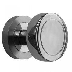 Modern Mortice Door Knobs - Satin Stainless Steel