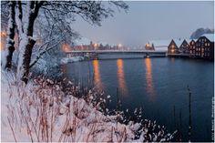 Trondheim, Nidelva, Gamle bybro