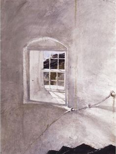 Andrew Wyeth 'Study for The Reefer' watercolor on paper