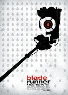 """Blade Runner """"Sci-Fi Movie Poster Serie"""""""