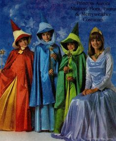 Simplicity 8328 Disney Sleeping Beauty Costume PATTERN Fairy