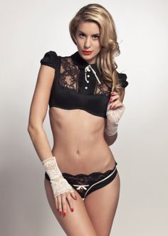 Chantal Thomass Cachottiere Culotte | Black | Leavers Lace | Brief | Panties | Knickers