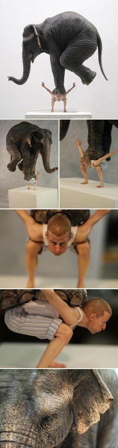 Fabien Mérelle – Sculpture : Pentateuque – 2013