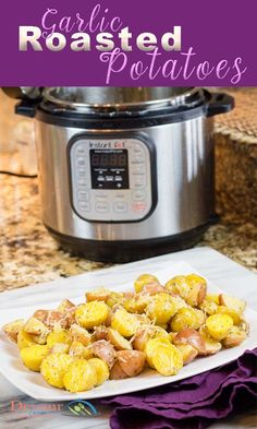 Garlic Roasted Potat