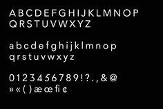 dahlem regular typeface.