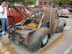 1940 Dodge Wrecker by splattergraphics, via Flickr