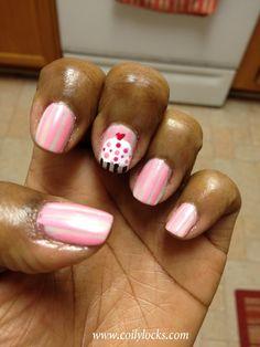 MANICure Monday  cupcake nails