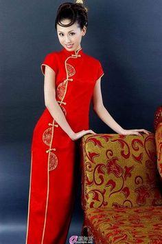 Китайское платье картинки