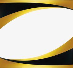 Black gold wave border Vector and PNG Poster Background Design, Powerpoint Background Design, Powerpoint Design Templates, Metal Background, Background Templates, Certificate Layout, Certificate Background, Certificate Design Template, Frame Border Design