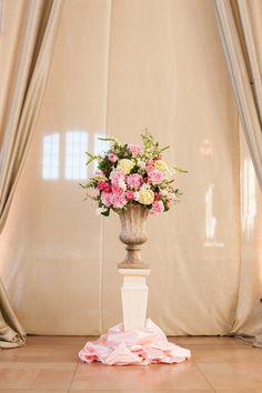 Union Station grand entrance.  Wedding flowers #thevintagepetalkc  thevintagepetal.com