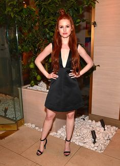 Madelaine Petsch attends the CW Upfronts Party