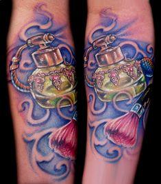 Perfume tattoo
