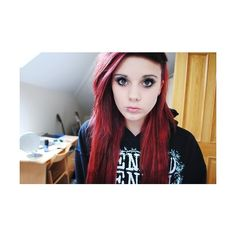 Red hair II. found on Polyvore
