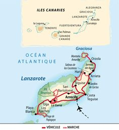 Itinéraire du voyage Lanzarote : l'île artiste Barcelona City Centre, W Hotel Barcelona, Teneriffe, Holiday Destinations, Travel Destinations, Costa Teguise, Natural Park, Need A Vacation, Canary Islands