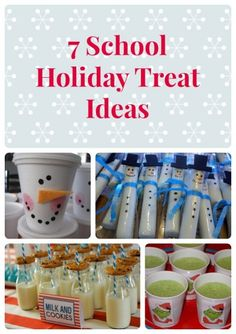 Spread the holiday cheer to your child's lunchbox with these 7 school treat ideas