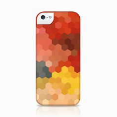 Hexagon iPhone 5 Case by littlemissgee on Etsy, $35.00