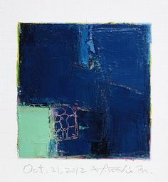 Oct 21 2012 Original Abstract Oil Painting by hiroshimatsumoto, $60.00