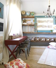 a look at the handmade home's spaces