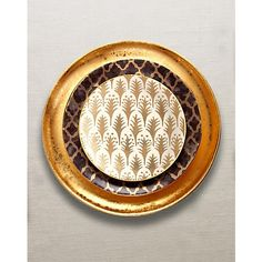 L'Objet Fortuny Gold & Alchimie Dinnerware Collection