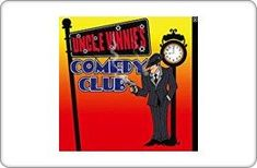 Uncle Vinnies Comedy Club Gift Card 125 *** Check out the image by visiting the link.(It is Amazon affiliate link) #dc