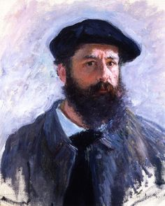 monet, self-portrait 1886 by deflam, via Flickr