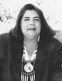 Wilma Mankiller:  first female principal chief in the history of the Cherokee people.