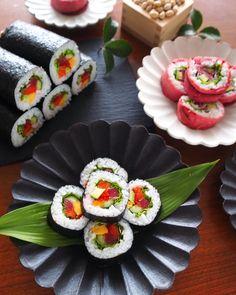 Polenta patties with reblochon and ham - Healthy Food Mom Asian Recipes, Gourmet Recipes, Healthy Recipes, Ethnic Recipes, Gimbap Recipe, Sashimi Sushi, Best Meat, Beef Ribs, Sushi Rolls