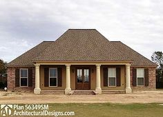 3 Bedroom Southern Belle - 56372SM | Acadian, European, French Country, Southern, Photo Gallery, 1st Floor Master Suite, PDF, Corner Lot | Architectural Designs