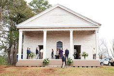 Georgia Wedding in an abandoned church.  Beautiful spring morning + 200 year old church = perfection for this Georgia wedding! flowers and décor by: @roxiecrainseale and the fourth and cherry crew  Photo by: @lettersandlight