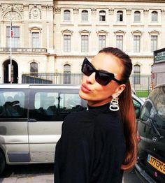 Irina Shayk almost bought sunglasses like these