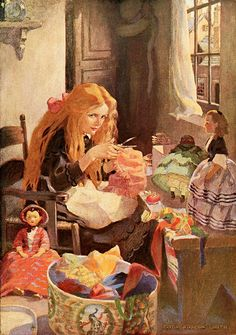 Jessie Willcox Smith - 'Dickens's Children' by totally vintage, via Flickr