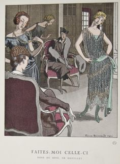 Fashion Plate, Gazette du Bon Ton, 1921