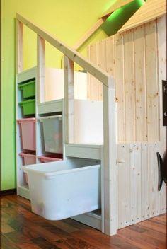 chantier d'été : un lit cabane pour notre fille. - Inspirations