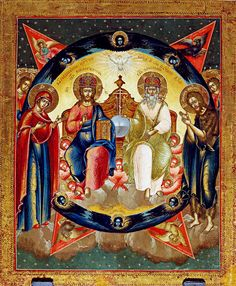 Holy Trinity Co-Enthronement Icon