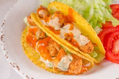 These Fish Tacos use just 8 ingredients and are easy to make in 30 minutes.