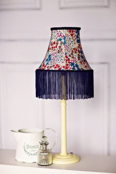 Asian decor asian lamp shade zen garden oriental lamp shade vintage blues by laurie oharra on etsy thank you from colonialcrafts for including my grapevine aloadofball Images
