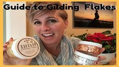 Guide to Nuvo Gilding Flakes, embellishment mousse and glue and sample variety of uses