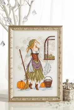 CInderella spectacular: Our exclusive Joan Elliott Special starts with Cinderella in rags – an amazingly sparkly design! Find it on page 27 of our November 242 issue of Cross Stitch Collection: http://www.crossstitchcollection.com/find-us/