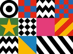 Peter Blake, Design Motifs for Everybody Razzle Dazzle