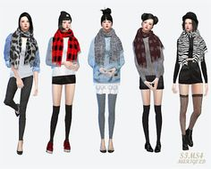 My Sims 4 Blog: Accessories - Clothing - Female