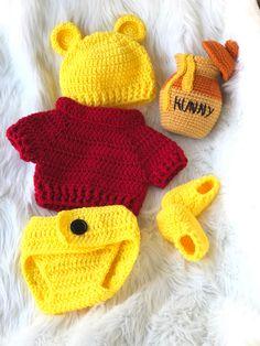Crochet Baby Props, Crochet Lovey Free Pattern, Crochet Baby Costumes, Crochet Baby Sweater Pattern, Newborn Crochet Patterns, Crochet Baby Clothes, Crochet For Kids, Crochet Crafts, Crochet Projects