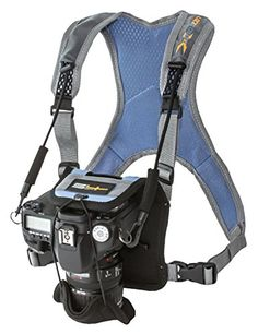 Field Logic SG00332 S4Gear LockDownX Camera Harness for Nikon Canon Sony Pentax Fujifilm Leica Samsung and other Cameras Blue * Visit the image link more details. (Note:Amazon affiliate link)