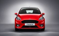View 2018 Ford Fiesta: The Spunky Subcompact Grows Up a Bit Photos from Car and Driver. Find high-resolution car images in our photo-gallery archive.