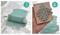 Centsational Girl » Blog Archive Stamped Tea Towels - Centsational Girl