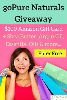 Natural SkinCare Giveaway! #Summer is right around the corner and we want to offer you all natural free skincare products that will give you a pure glow! Check out our blog for details. Super easy and free to enter blog.gopurenaturals.com. Follow us for more giveaways and awesome beauty/wellness tips. #beauty #skincare #sheabutter #essentialoils