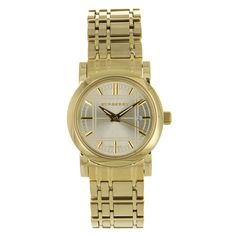 Burberry Ladies' Classic Watch in Gold