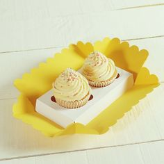 Yellow inspiration http://selfpackaging.com/3000-cute-cupcakes-gift-box-80.html  #discount #cupcakes #sales #homemade #diy