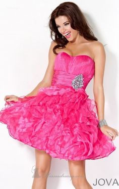 strapless short dress jovani exclusive Jovani 4301 Dress